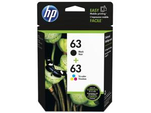 HP 63 Ink Cartridge - Combo Pack - Black/Cyan/Magenta/Yellow