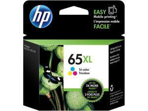 HP 65XL High Yield Ink Cartridge - Cyan/Magenta/Yellow