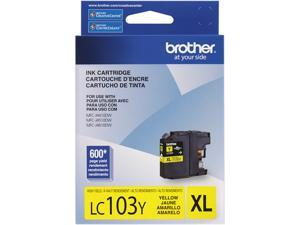 Brother LC103Y High Yield Innobella Ink Cartridge - Yellow