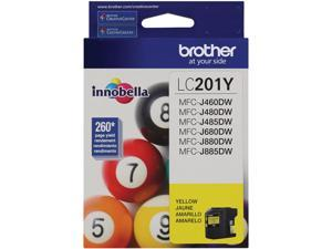 Brother Yellow Ink Cartridge (260 Yield) LC201Y