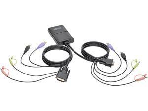 2PORT USB/DVI KVM SWITCH CABLE
