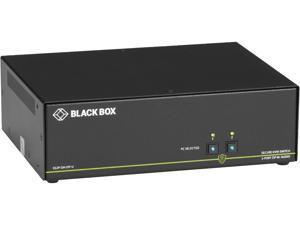 Black Box SS2P-DH-DP-U 4k 2-Port Secure Niap 3.0 KVM Switch Dual-Head Displayport