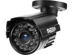 TMEZON Hybrid AHD Security Camera 1080P TVI/AHD/CVI/960H 2.0MP 2000TVL Bullet Day Night Vision 24 IR LEDs Outdoor/Indoor Wide Angle 3.6mm Lens for CCTV Camera System (Default AHD Mode)