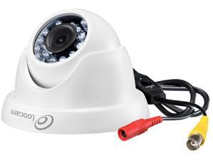 Loocam 1080p Outdoor Indoor 1920TVL Hybrid 4-in-1 Camera, CVI/TVI/AHD/960H Security Weatherproof Dome Metal&Plastic Camera with 100ft Night Vision for HD-TVI, AHD, CVI, and CVBS/960H Analog DVR