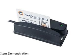 ID Tech WCR3227-533C Omni Credit Card Reader for  Barcode and MagStripe Media