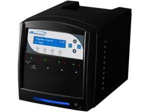 Vinpower Digital SDShark 3 Target SD & MicroSD Duplicator Tower-Model SDShark-3T-BK