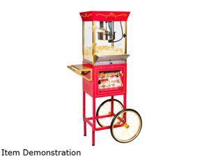 "Nostalgia Electrics CCP-610 Vintage Collection 8-Ounce 59"" Popcorn & Concession Cart"