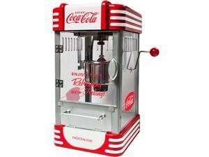 Nostalgia RKP630COKE Coca-Cola Series 2.5 oz. Kettle Popcorn Maker