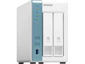 QNAP TS-231P3-4G 2 Bay Home & Office NAS with one 2.5GbE Port