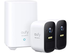 eufy Security by Anker, eufyCam 2C 2-Cam Kit, Wireless Home Security System with 180-Day Battery Life, 1080p HD, IP67, Night Vision, No Monthly Fee