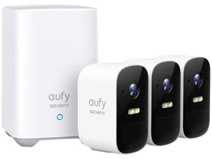 Eufy Security, eufyCam 2C 3-Cam Kit, Wireless Home Security System with 180-Day Battery Life, 1080p HD, IP67, Night Vision, No Monthly Fee