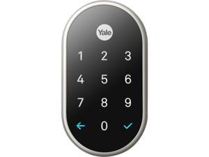 Nest x Yale Wi-Fi Smart Lock with Nest Connect - Satin Nickel
