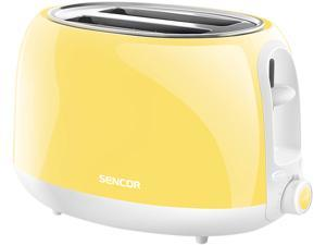 Sencor Two Slot Electric Toaster, Yellow STS-2706YL-NAA1