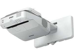 Epson PowerLite 680 XGA 3LCD Short-throw Presentation Projector 3500 lumens, V11H746520
