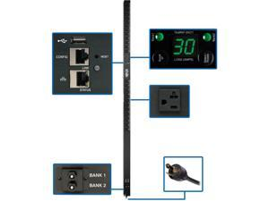 Tripp Lite PDU Monitored 2.9kW 120V 24 5-15/20R 30A LX Platform 0URM TAA
