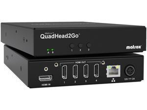 Matrox - Q2G-DP4K - Matrox QuadHead2Go Video Wall Controller Board