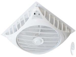 Sunpentown SF-1691C 16 in. White DC-Motor Drop Ceiling Fan