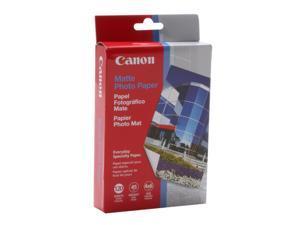 Canon MP-101 Matte Photo Paper (7981A004), 4 x 6, 45 lb., White, 120 Sheets/Pack