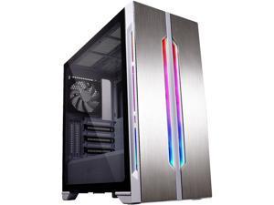 LIAN LI Lancool One Digital White White SECC / Tempered Glass ATX Mid Tower Computer Case