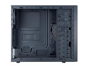 Cooler Master N400 NSE-400-KKN2 N-Series Mid Tower Computer Case with ATX Motherboard Support, Multiple 240mm Radiator Support, and Ventilated Front Panel