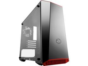 Cooler Master MasterBox Lite 3.1 Micro ATX Tower w/ Front Dark Mirror Panel, 3 Customize Color Trims & Transparent Acrylic Side Panel