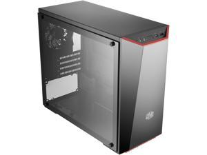 Cooler Master MasterBox Lite 3.1 TG Micro ATX Tower w/ Front Dark Mirror Panel, 3 Customize Color Trims & Tempered Glass Side Panel
