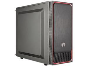 COOLER MASTER MasterBox E500L MCB-E500L-KN5N-S01 Black / Red Steel / Plastic ATX Mid Tower Computer Case
