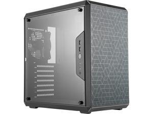 Cooler Master MasterBox Q500L Mid Tower w/ ATX MB Support, Magnetic Dust Filter, Transparent Acrylic Side Panel, Adjustable I/O & Fully Ventilated for Airflow
