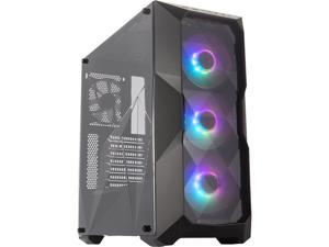 Cooler Master MasterBox TD500 ARGB MCB-D500D-KANN-S01 Black Steel, Plastic, Acrylic ATX Mid Tower Computer Case