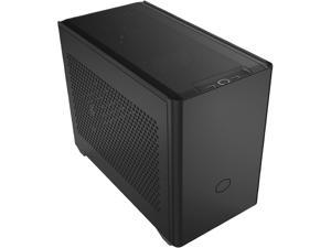 Cooler Master MasterBox NR200P SFF Small Form Factor Mini-ITX Case with Tempered glass or Vented Panel Option, PCI Riser Cable, Triple-slot GPU, Tool-Free and 360 Degree Accessibility