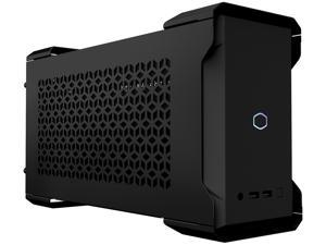 Cooler Master MasterCase NC100 SFF Small Form Factor 7.9 Liter Case with V650 Gold SFX PSU, GPUs 2.5 slots up to 320mm for Intel NUC 9 Extreme Element