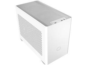 Cooler Master Cooler Master NR200 White SFF Small Form Factor Mini-ITX Case with Vented Panel, Triple-slot GPU, Tool-Free and 360 Degree Accessibility