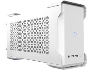 Cooler Master MasterCase NC100 White SFF Small Form Factor 7.9 Liter Case with V650 Gold SFX PSU, GPUs 2.5 slots up to 320mm, for Intel NUC 9 Extreme Element