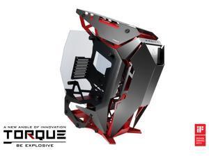 Antec TORQUE Black / Red Aluminum ATX Mid Tower Computer Case - Winner of iF Design Award 2019