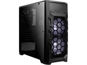 Antec Gaming New Vision GX202 White Black SPCC & Plastic ATX Mid Tower Entry-Level Gaming Case