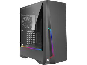 Antec Dark Phantom DP501 ATX Mid Tower Gaming Case /ARGB Motherboard Sync/ Tempered Glass