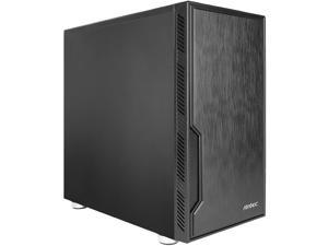 Antec Value Solution Series VSK10 Highly Functional Micro-ATX Case, Support 4 x 140 mm Fan and 280 mm Radiator, 2 x USB3.0