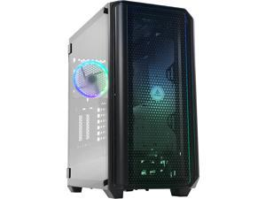 Antec NX Series NX1000, Mid-Tower ATX Gaming Case, Front LED Light Effects, 3 x Tempered Glass Front & Side Panels, 360 mm Radiator Support, 1 x 120 mm ARGB Fan Included