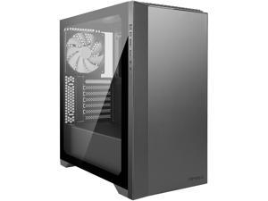"Antec Performance Series P82 Flow ATX Mid-Tower Case, Tool-Free Tempered Glass Side Panel, Removable 2.5"" SSD Rack, Support for Up to 4 x 2.5"" SSDs, White LED, 4 x 140 mm White Blade Fans Included"