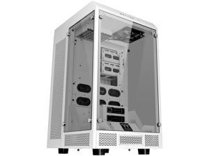 Thermaltake Tower 900 Snow Edition Tempered Glass Fully Modular E-ATX Vertical Super Tower Chassis CA-1H1-00F6WN-00