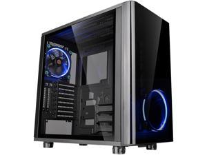 Thermaltake View 31 Dual Tempered Glass ATX Tt LCS Certified Black Gaming Mid Tower Computer Case CA-1H8-00M1WN-00