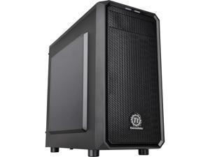 Thermaltake Versa H15 Black SPCC Micro ATX Tower Computer Case CA-1D4-00S1NN-00