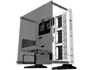 Thermaltake Core P3 TG Snow ATX Open Frame Panoramic Viewing Tt LCS Certified Gaming Computer Case CA-1G4-00M6WN-05