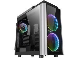 Thermaltake Level 20 GT RGB Plus E-ATX Full Tower Rotational Expansion Slot Type-C Modular Gaming Computer Case CA-1K9-00F1WN-01