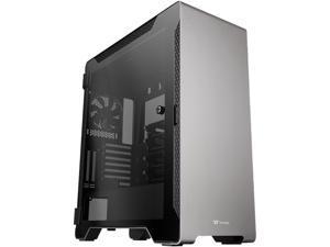 Thermaltake TT Premium A500 Tempered Glass ATX Mid Tower Chassis  TT Premium Computer Case CA-1L3-00M9WN-00