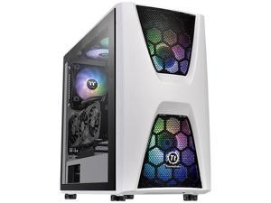 Thermaltake Commander C34 TG Snow ARGB CA-1N5-00M6WN-00 White SPCC / Tempered Glass ATX Mid Tower Computer Case