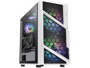 Thermaltake Commander C31 TG Snow ARGB CA-1N2-00M6WN-00 White SPCC / Tempered Glass ATX Mid Tower Computer Case