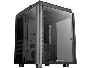 Thermaltake Level 20 HT Black Edition 4 Tempered Glass Type-C Fully Modular E-ATX Full Tower Computer Chassis with 2 x 140mm Top Fan Pre-Installed CA-1P6-00F1WN-00