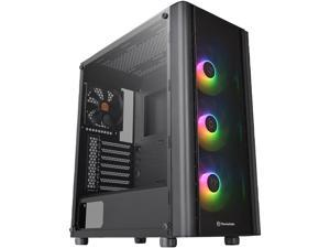 Thermaltake V250 Tempered Glass ARGB Edition 5V MB RGB Sync ATX Mid-Tower Chassis with 3 x 120mm 5V Addressable RGB Fan + 1 x Black 120mm Rear Fan Pre-Installed CA-1Q5-00M1WN-00