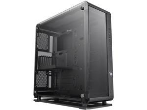 Thermaltake Core P8 Tempered Glass E-ATX 2-Way Display Rotational PCI-E Full-Tower Gaming Computer Case, CA-1Q2-00M1WN-00